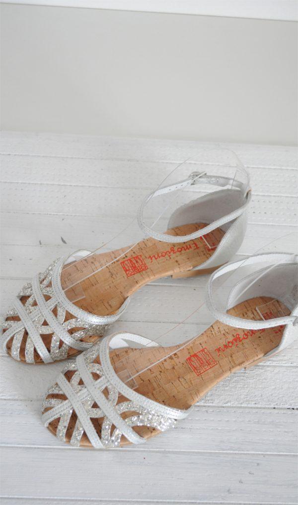 Sandale paianjen albe
