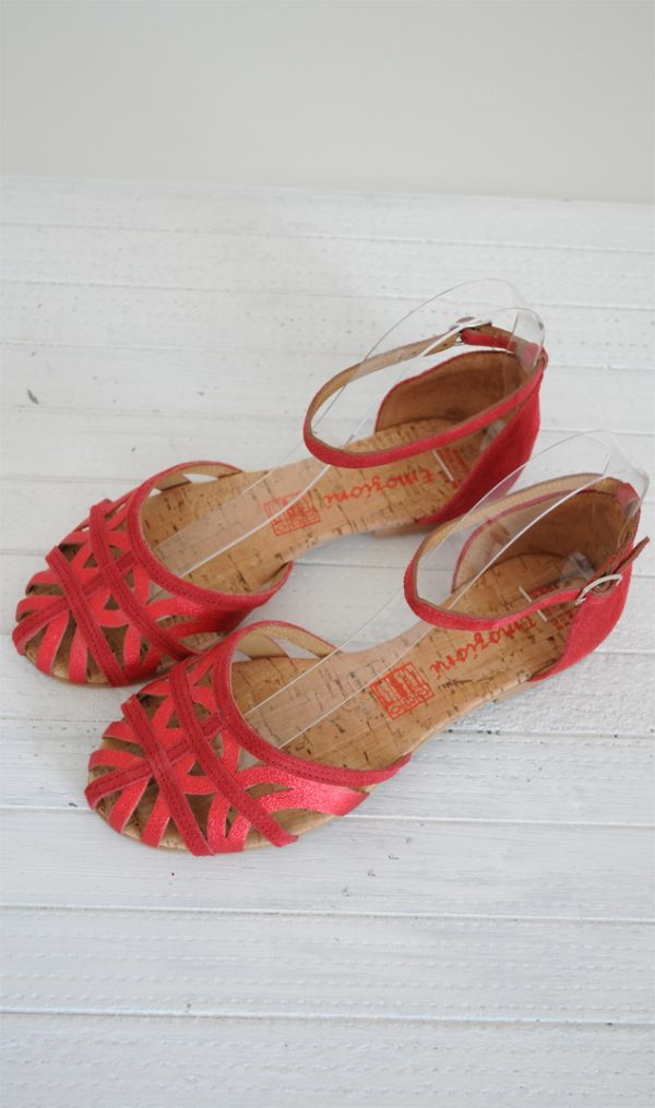Sandale paianjen rosii