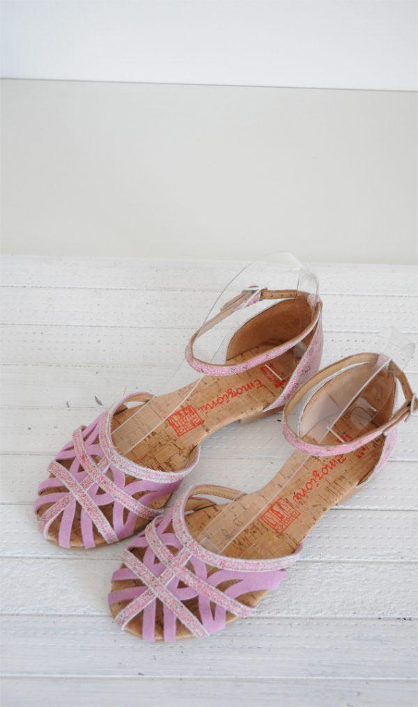 Sandale paianjen roz deschis
