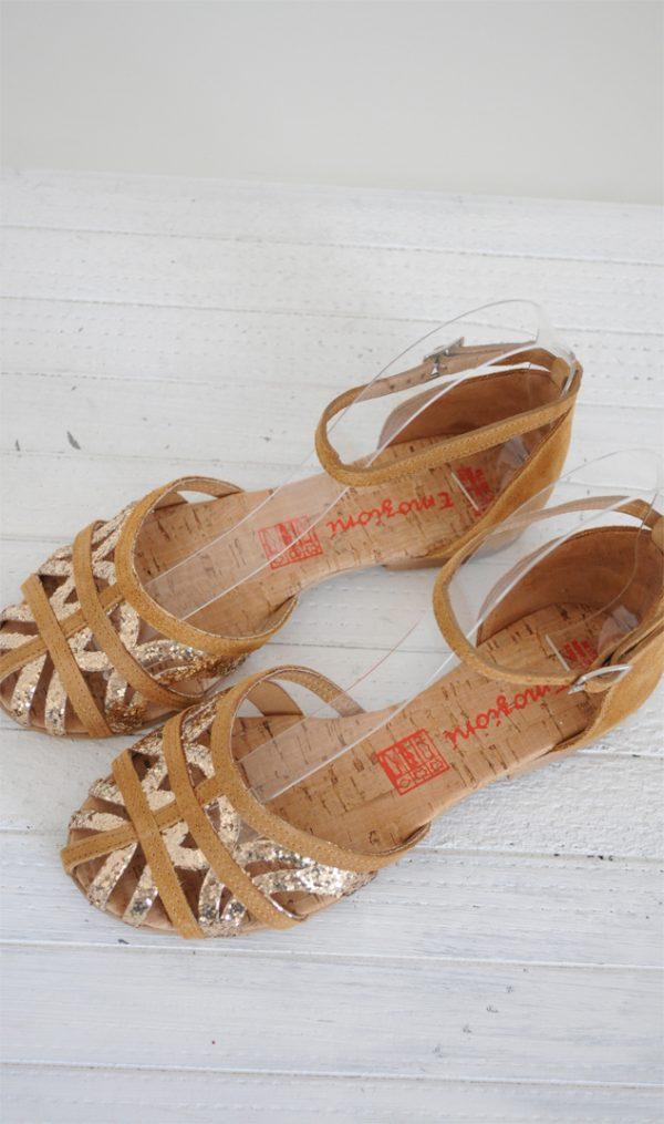 Sandale paianjen maro
