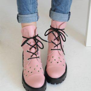 Bocanc Select Pink cu capse si siret