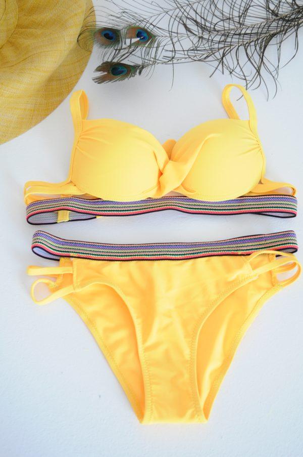 Costum de baie Freda galben