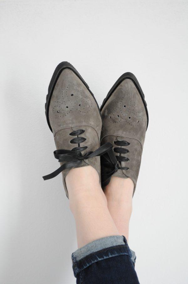 bun imagini noi din marimea 7 la preț mic preț competitiv online de vânzare pantofi oxford dama piele  intoarsa - carpathian-endemics.ro