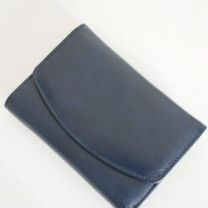 Portofel Jojo piele naturala albastru