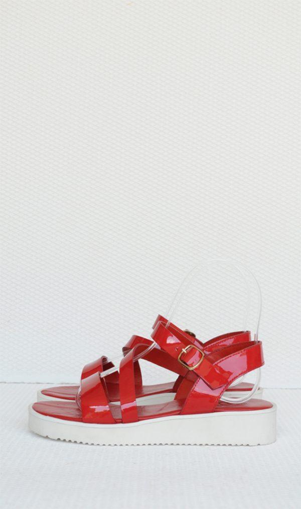 Sandale dama rosii