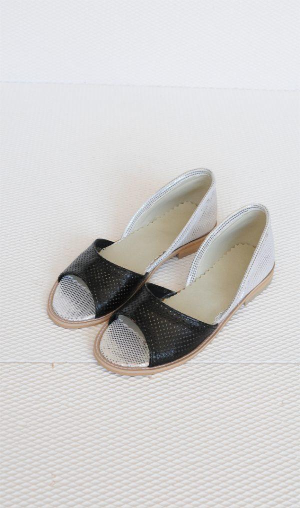 Sandale Mara argintii