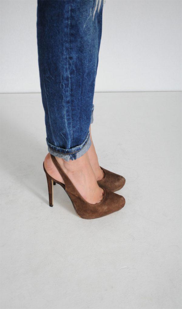 Pantofi Sissi maro