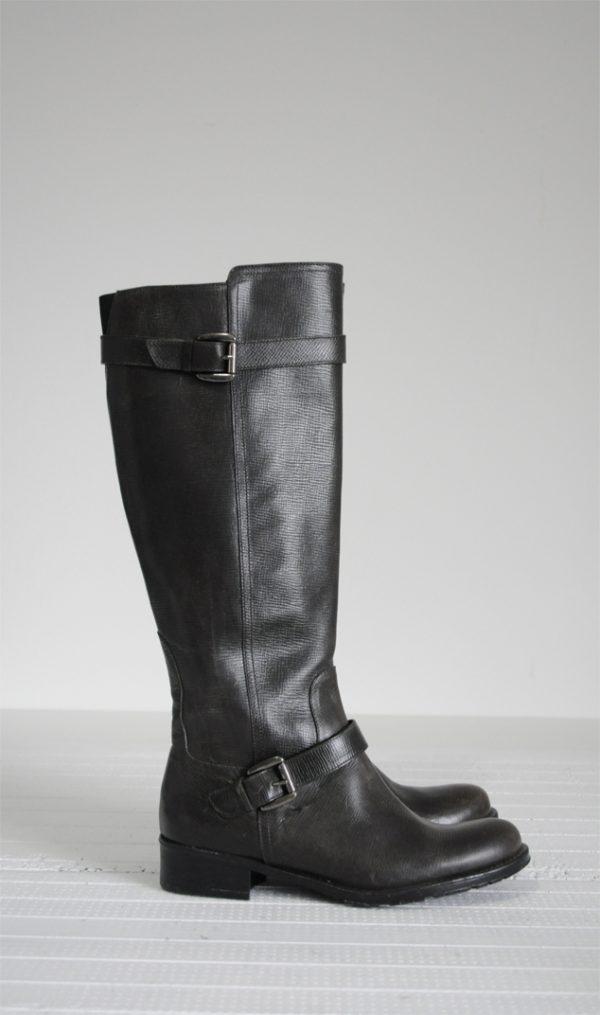 Cizme kaki piele naturala