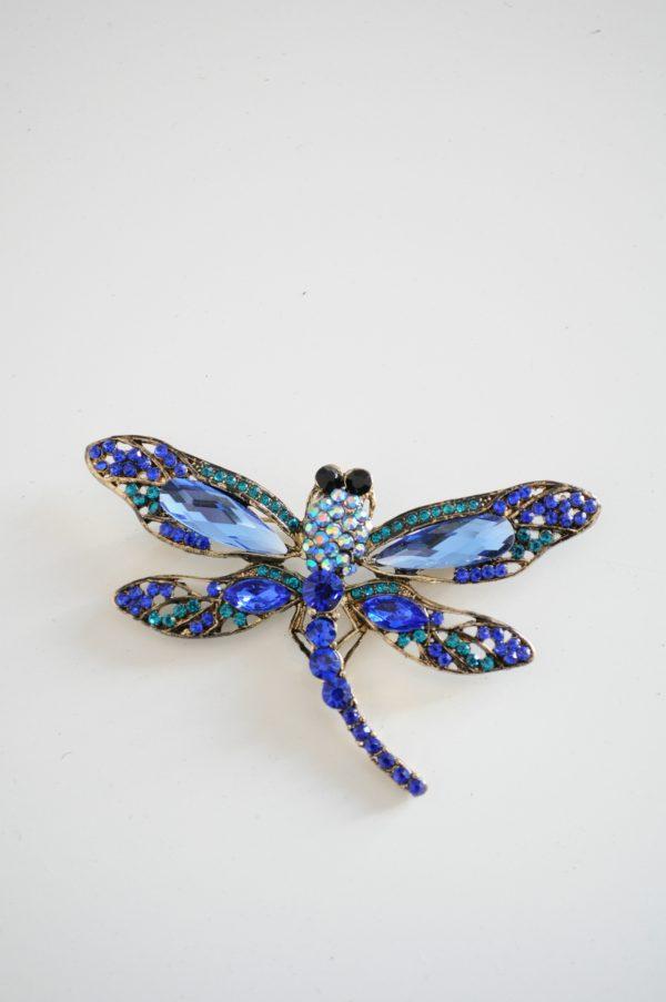 Brosa libelula mijlocie blue