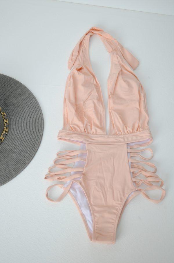 Costum de baie Mina roz