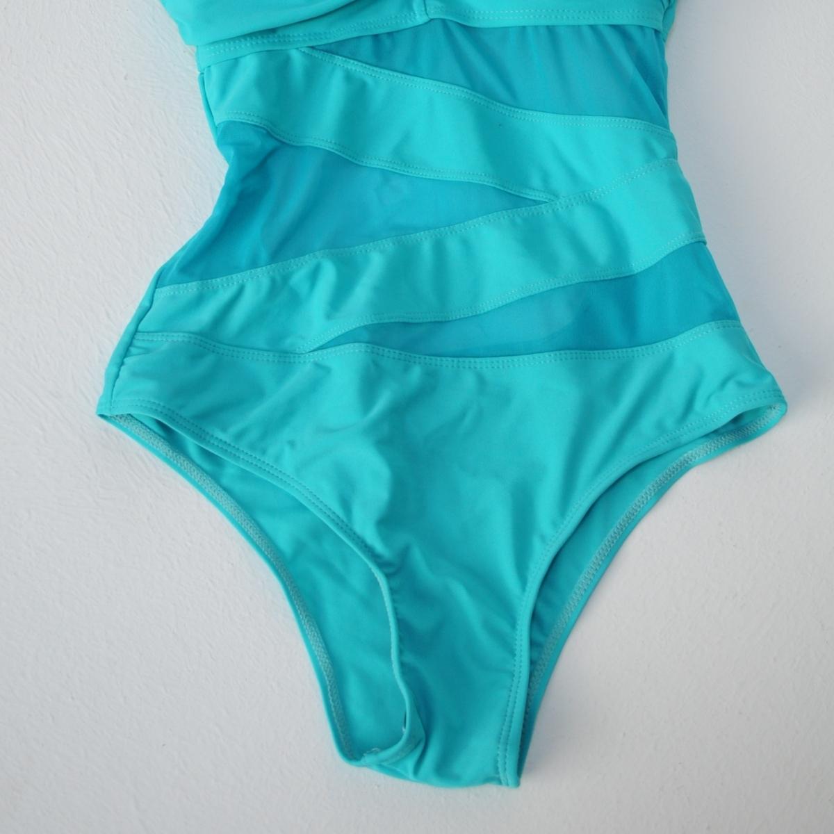 Costum de baie Dalida turcoaz