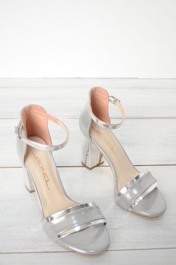 Sandale Berna argintii