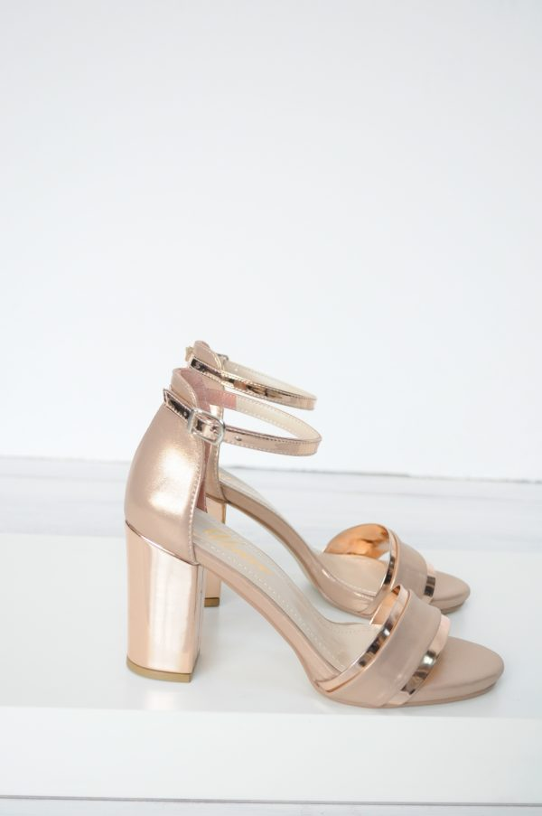 Sandale Berna gold rose