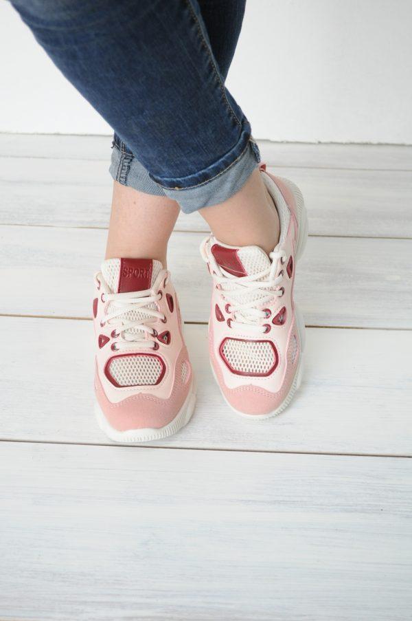 Adidasi Carmen roz