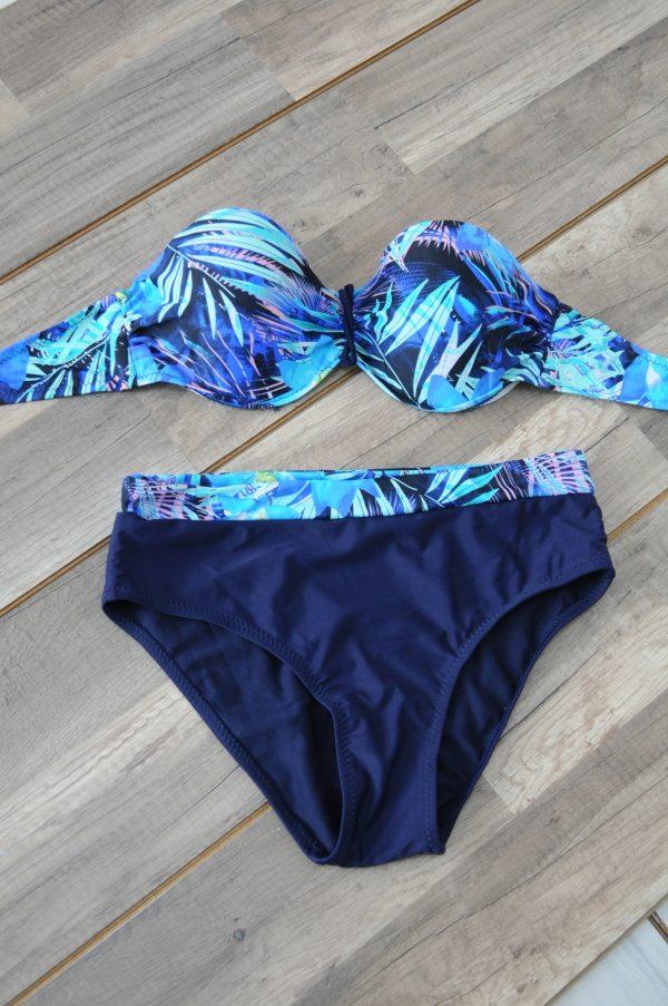 Costum de baie albastru Cleo